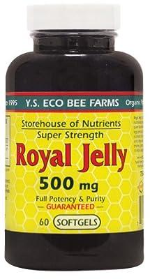 YS Organic Bee Farms - Royal Jelly Super Strength 500 mg.