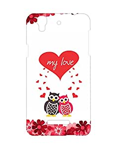 Mobifry Back case cover for Micromax YU Yureka AO5510 Mobile (Printed design)