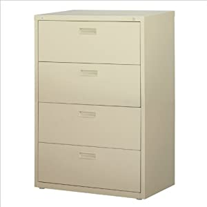 30 wide 4 drawer hl1000 series lateral file - Putty colored kitchen cabinets ...