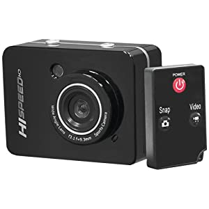 Pyle-sport 12.0 Megapixel 1080p Action Camera With 2.4&#39&#39 Touchscreen (black)