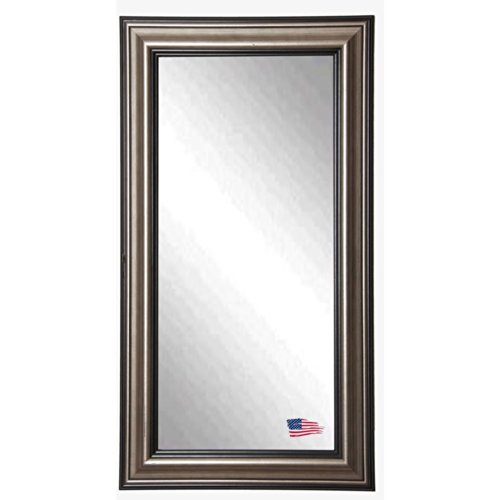American Made Rayne Antique Silver 30.5 X 65.5 Floor Mirror front-462732