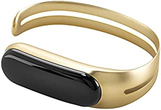 Mira Bracelet Fitness Tracker and Activity Tracker (Brushed Gold)