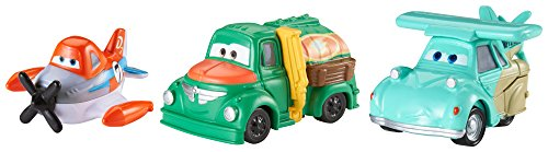 Disney Planes Micro Drifters Supercharged Dusty, Franz and Chug Vehicle 3-Pack