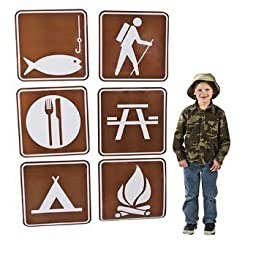 Camp Sign Cutouts
