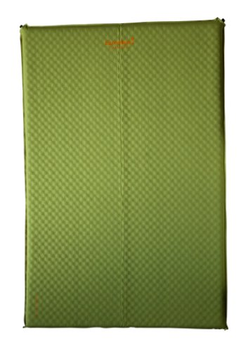 Eureka! Airrest DC Lite Double Deluxe Air Mat - Light green/Orange