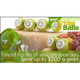 Fridge Ballse Easier to Use Than Green Bags