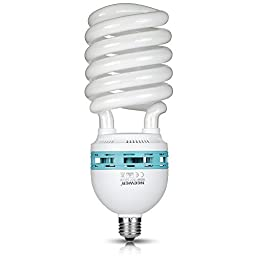 Neewer®Tri-Color Tube 105 Watt 5500 K Fluorescent Daylight Balanced Full Spectrum Light Bulb for Photography and Video Lighting (105 Watt)