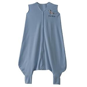 HALO SleepSack Comfort Mesh Early Walker Wearable Blanket, Blue Dog, Large