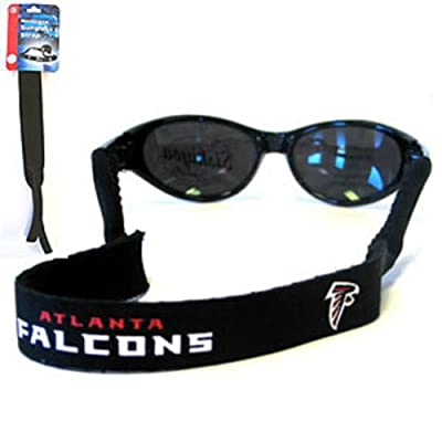 NFL Atlanta Falcons Neoprene Sunglass Strap, Black