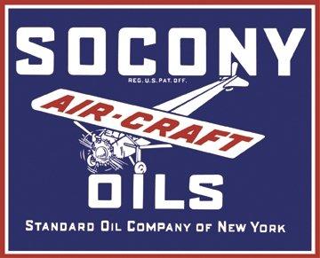 Vintage Aviation Oil
