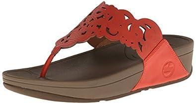 FitFlop-Sandals Flora Women-UK: 8-Ultra Orange