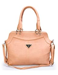 "Barbarian Camel Color Hand Bag For ""Woman Traveller"""