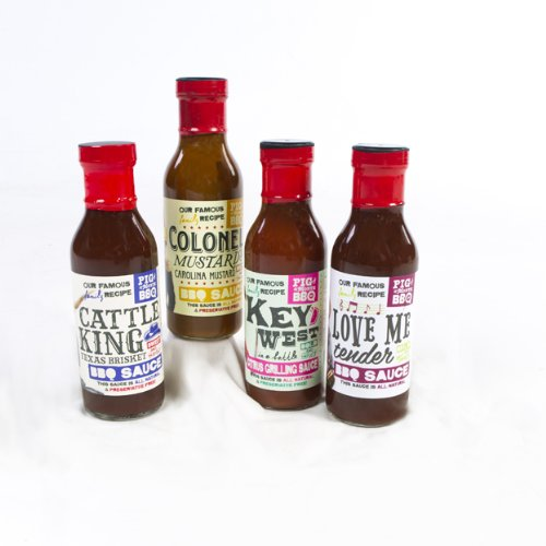 Award Winning BBQ Sauce Sampler Gift Kit