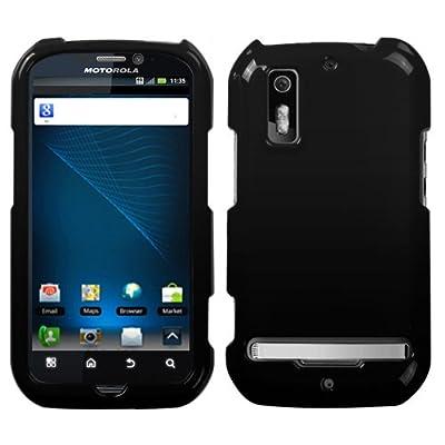 Motorola Photon 4G Protector Case Phone Cover - Black from Mybat