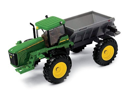 John Deere New Leader Dry Box Spreader - Ertl Collect N Play Series