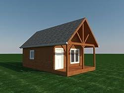 Build your own 16' x 24' Cabin plus Loft