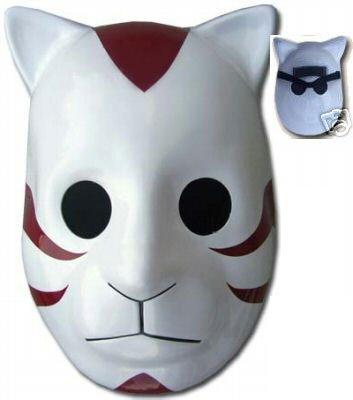 Naruto Costume Accessory - Cosplay Anbu (Dark Troop) Cat Mask