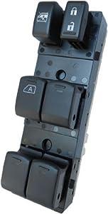 Nissan Altima 2007-2012 (Driver's Window Auto Down Only) OEM Window Master Control Switch