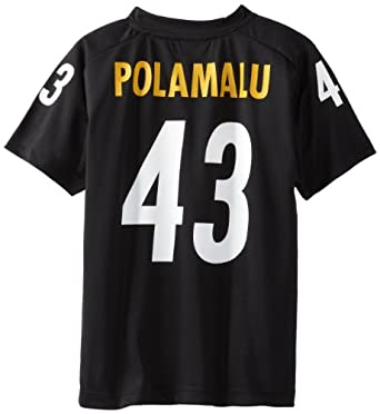 NFL Pittsburgh Steelers Troy Polamalu 8-20 Youth Player Replica Jersey by OuterStuff