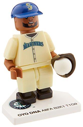 MLB Seattle Mariners Robinson Cano Generation 4 Mini Figure, Small, Black - 1