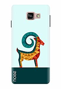 For Samsung Galaxy A7 2016, Noise Designer Printed Case / Cover for Samsung Galaxy A7 - 6 (New 2016 Edition) / Comics & Cartoons / Crystal Antelope Design