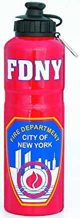 FDNY RED WATER BOTTLE