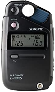Sekonic L-308s Light Meter - Black