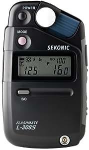 Sekonic  L-308S 401-309 Flashmate Light Meter Digital (Black)