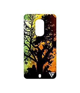 Vogueshell Nature Printed Symmetry PRO Series Hard Back Case for Motorola Moto X2
