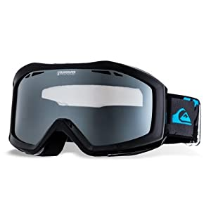 Quiksilver Men's Fenom Mirror Goggle - Black/Blue, One Size
