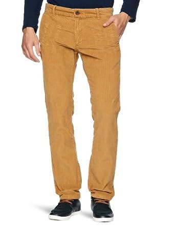 Tommy Hilfiger Fallon FA12 CRD GD Slim Men's Trousers Golden Tobacco W31 INxL34 IN