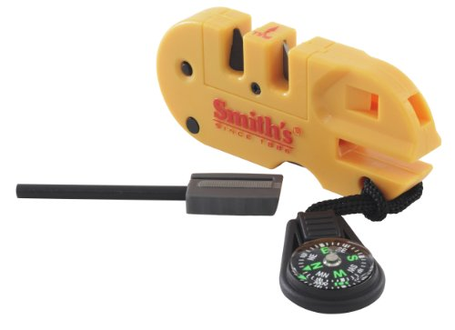 Smith's 50364 Pocket Pal X2 Sharpener & Survival Tool