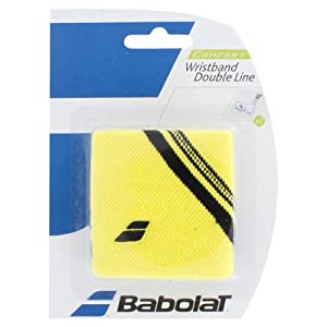 Buy Double Line Tennis Wristbands by Babolat