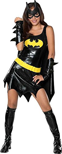 Batgirl Teen Sexy Halloween Costume - Most Adults