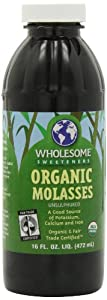 Wholesomes Sweetners - Organic Molasses, 16 oz liquid