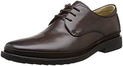 Steptronic Angelo, Derby homme, Marron (Dark Brown), 40 EU