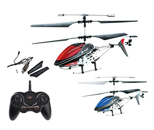 35-Kanal-24GHz-RC-ferngesteuerter-mini-Hubschrauber-Modellbau-Helikopter-mit-Gyro-Technik-Ready-to-Fly-Heli-Modell-Neu