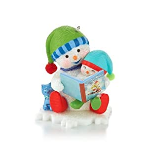 "Hallmark 2013 ""Reading is Snow Much Fun"" Ornament"