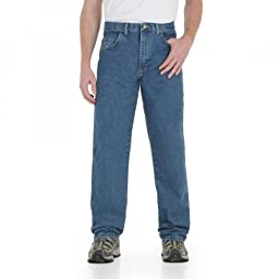 Wrangler Big & Tall Rugged Wear Relaxed-Fit Jeans (52 X 28, Stone)