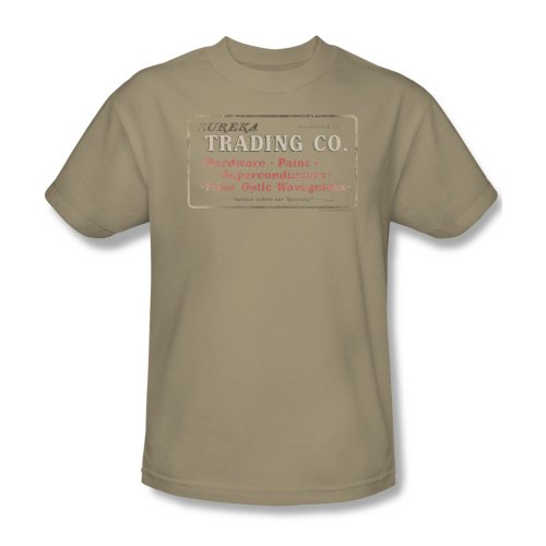 Eureka Trading Company Poster Vintage Style Sci Fi Nbc Tv Show T-Shirt Tee front-552760