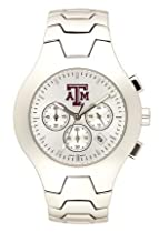 Texas A&M Aggies Hall Of Fame Sterling Silver Watch