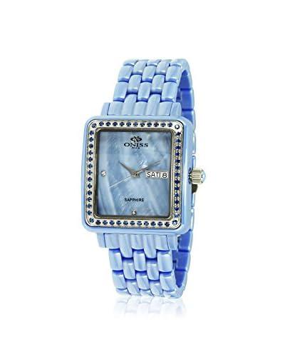Oniss Women's on7700-L/BU/BU/BU Blue High Tech Ceramic Watch