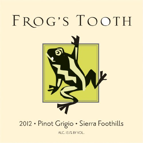 2012 Frog'S Tooth Sierra Foothills Pinot Grigio 750 Ml