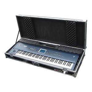 Odyssey FZKB88W Flight Zone Universal 88 Note Keyboard Ata Case With Wheels