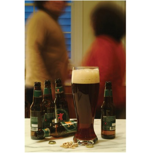 DCI XL Beer Glass, Giant Beer Glass holds 4 Beer Bottles, 52oz capacity (Giant Glass Container compare prices)