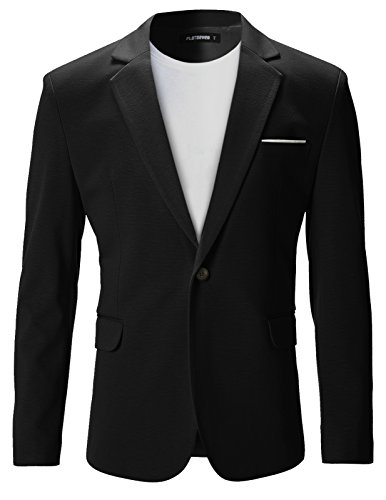 flatseven-giacche-blazer-slim-fit-casual-premium-uomo-bj102-nero-xxl