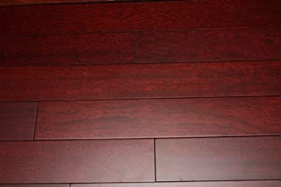 "Kingsport Brazilian Cherry Red 3/4"" x 4"" Exotic Solid Hardwood Flooring NH117 SAMPLE"