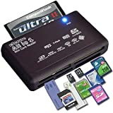 eSecure High Speed All-in-1 USB Card Reader for all Digital Memory Cards