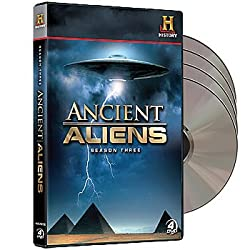 History Channel's Ancient Aliens: Complete Season 3 DVD - Over 12 Hours!