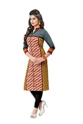 PADMiNi Ethnicwear Women's Kurta Fabric Multi-Coloured Free Size